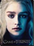 Game Of Thrones (Season 3 - Daenrys)  Reproduction sur toile tendue