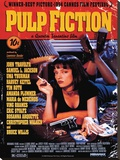 Pulp Fiction (Cover) Sträckt Canvastryck