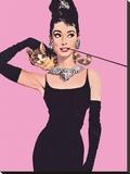 Audrey Hepburn (Pink) Płótno naciągnięte na blejtram - reprodukcja
