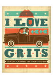 Anderson Design Group - Grits - Art Print