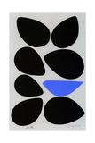 Birth/Seven Eggs with Bluebird Giclée-trykk av Jerry Kott