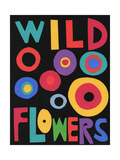 Wildflowers Poster Giclee Print by Jerry Kott