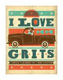 Grits Posters by  Anderson Design Group