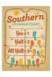 Southern Grammar Prints by  Anderson Design Group