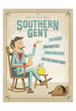 Southern Gent Prints by  Anderson Design Group