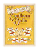 How to Talk Like a Southern Belle Print by  Anderson Design Group