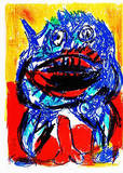 132 (One Cent Life) Collectable Print by Karel Appel