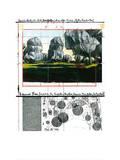 Wrapped Trees Nr.IV (Riehen) Sérigraphie par  Christo