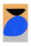 Blue Egg with Blackbird Giclee Print by Jerry Kott