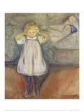 Das Kind und der Tod, 1899 Prints by Edvard Munch