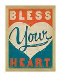 Béni soit ton cœur Poster par  Anderson Design Group