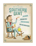 Southern Gent Print by  Anderson Design Group