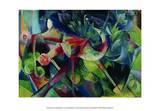 Reh im Blumengarten Posters by Franz Marc