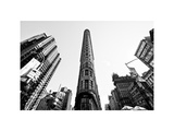 Flatiron Building, 5th Ave, Manhattan, New York, White Frame, Full Size Photography Photographic Print by Philippe Hugonnard