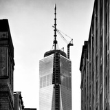 Top of the One World Trade Center (1WTC), Manhattan, New York, Square View Photographic Print by Philippe Hugonnard