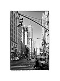 Urban Lifestyle, Empire State Building, Manhattan, New York, White Frame, Full Size Photography Photographic Print by Philippe Hugonnard