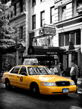 Yellow Taxi Cab, Union Square, Manhattan, New York, United States Photographic Print by Philippe Hugonnard