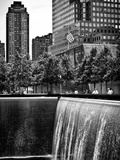 The Memorial Pool at 9/11 Memorial View, 1WTC, Manhattan, New York, USA Photographic Print by Philippe Hugonnard