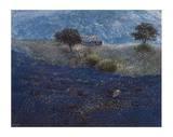 Wilder Lavendel Serigraph by Lutz Münzfeld
