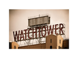 The Watchtower, Jehovah's Witnesses, Brooklyn, Manhattan, New York, White Frame, Vintage Photographic Print by Philippe Hugonnard