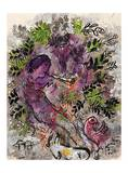Der Junge in den Blumen, 1955 Art by Marc Chagall