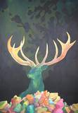 Mysteriöser Hirsch Collectable Print by Yim Young Ju