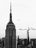 Empire State Building and One World Trade Center (1 WTC), Manhattan, New York Photographic Print by Philippe Hugonnard