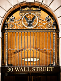 Nysc 30 Wall Street Building, Financial District, Manhattan, New York City, US, USA, Vintage Colors Photographic Print by Philippe Hugonnard