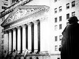 Statue of George Washington, New York Stock Exchange Building, Wall Street, Manhattan, NYC Photographic Print by Philippe Hugonnard