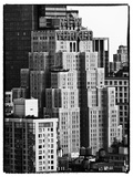 The New Yorker Hotel, Black and White Photography, Midtown Manhattan, New York City, United States Photographic Print by Philippe Hugonnard