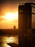 Sunset Building, Meatpacking District, Chelsea, Hudson River, Manhattan, New York Photographic Print by Philippe Hugonnard