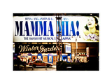 Mamma Mia! the Smash Hit Musical (Abba), Winter Garden, Times Square, Manhattan, New York Photographic Print by Philippe Hugonnard