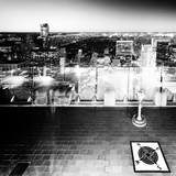 Downtown at Night, Top of the Rock Oberservation Deck, Rockefeller Center, New York City Photographic Print by Philippe Hugonnard