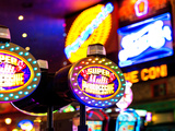 Jackpot Sign, Casino, Las Vegas, Nevada, United States, USA Photographic Print by Philippe Hugonnard