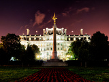 Eisenhower Executive Office Building (Eeob) by Night, West of the White House, Washington D.C, US Photographic Print by Philippe Hugonnard