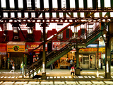 Subway Station, Williamsburg, Brooklyn, New York, United States Photographic Print by Philippe Hugonnard
