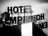 Rooftop, Hotel Empire, Upper West Side of Manhattan, Broadway, New York, Old Photographic Print by Philippe Hugonnard