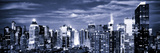 Panoramic Landscape View of Times Square, Skyscrapers View, Midtown Manhattan, NYC, NYC Stampa fotografica di Philippe Hugonnard