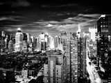 Landscape View of Times Square, Skyscrapers View, Midtown Manhattan, NYC, NYC, USA Photographic Print by Philippe Hugonnard