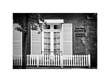 La Maison Française of New York University (Nyu), Greenwich Village, Manhattan, NYC, White Frame Photographic Print by Philippe Hugonnard
