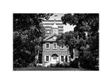 Church, Historic Philadelphia Center, Philadelphia, Pennsylvania, US, White Frame Photographic Print by Philippe Hugonnard