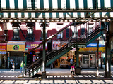 Subway Station, Williamsburg, Brooklyn, New York, United States Fotografiskt tryck av Philippe Hugonnard