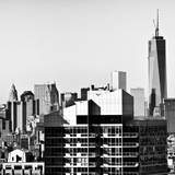One World Trade Center, Cityscape, Empire State Building, Manhattan, NYC Photographic Print by Philippe Hugonnard