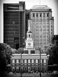 Philippe Hugonnard - Independence Hall and Pennsylvania State House Buildings, Philadelphia, Pennsylvania, US Fotografická reprodukce