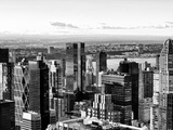 Landscape, Architecture and Buildings, Hell's Kitchen District and Hudson River, Manhattan, NYC Photographic Print by Philippe Hugonnard