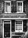 Philippe Hugonnard - Elfreth Trinity Houses, Elfreth's Alley, Philadelphia, Pennsylvania, US Fotografická reprodukce