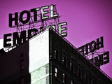 In the Footsteps of Gossip Girls in New York, Hotel Empire, Upper West Side of Manhattan, USA Photographic Print by Philippe Hugonnard