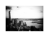 The One World Trade Center (1WTC), Hudson River and Statue of Liberty View, Manhattan, New York Photographic Print by Philippe Hugonnard