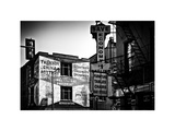 Old Shops and Stores in Philadelphia, Pennsylvania, US, White Frame, Full Size Photography Photographic Print by Philippe Hugonnard