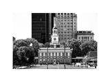 Independence Hall and Pennsylvania State House Buildings, Philadelphia, Pennsylvania, US Photographic Print by Philippe Hugonnard